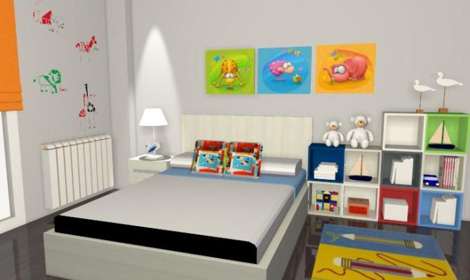 Proyectos kiona salamanca for Dormitorios juveniles con cama grande