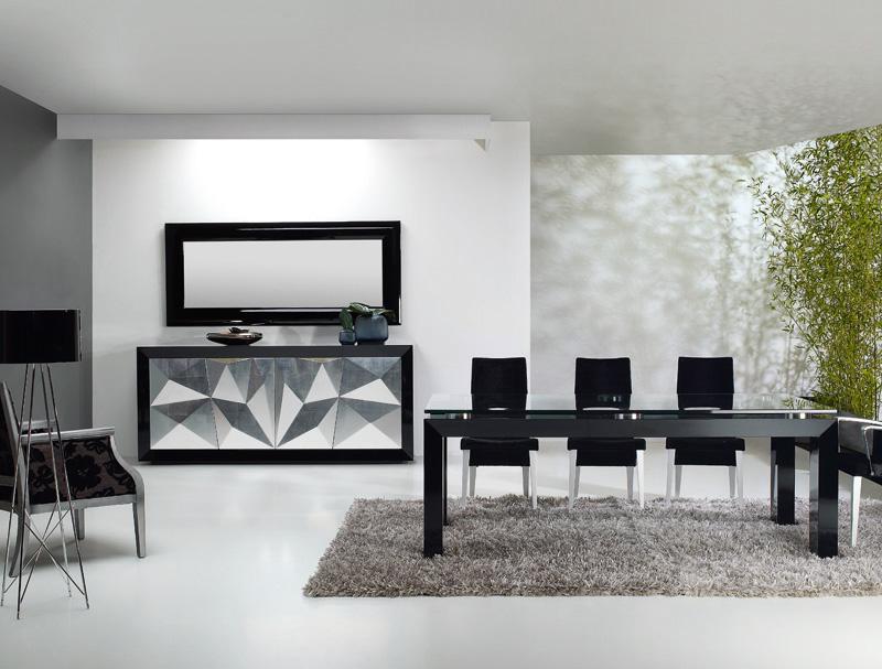 Mesa sillas y aparador plenitude kiona salamanca for Muebles de oficina salamanca