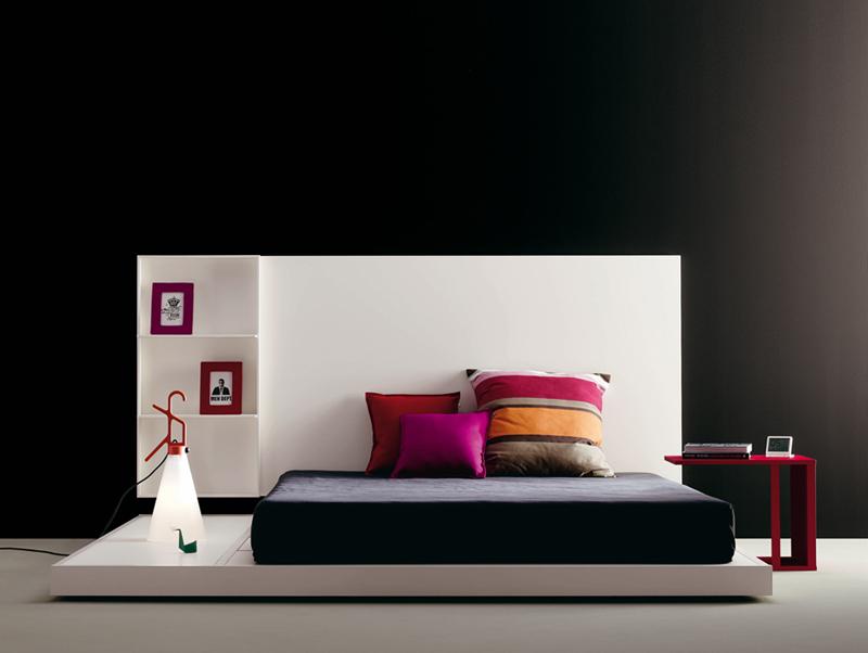 Dormitorio juvenil con cama tatami kiona salamanca for Cama tatami