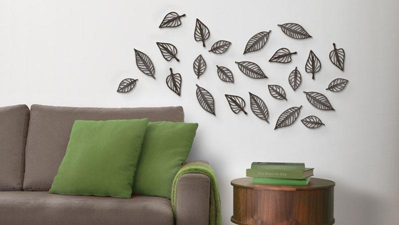 Oferta Muebles Oficina : Hojas d para decoración de pared kiona salamanca