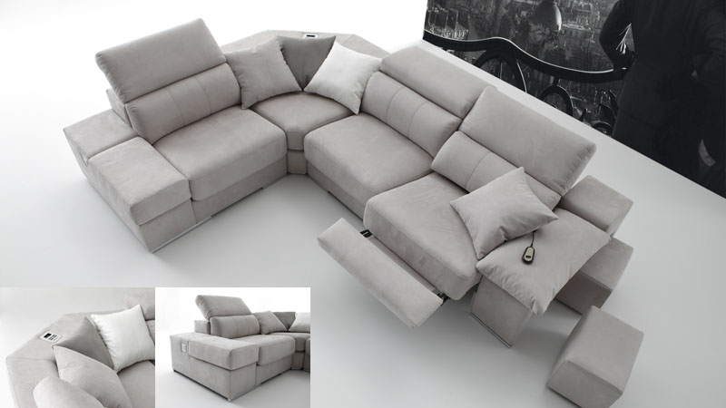 Sofs relax relax sofa with motorized sliding seat va copy for Sofa rinconera exterior