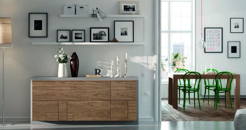 Mueble aparador de comedor nordik kiona salamanca - Mueble aparador para comedor ...
