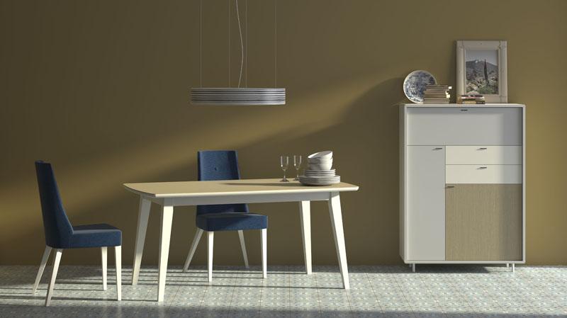 Mueble aparador de sal n o comedor vintass 08 kiona - Mueble aparador para comedor ...