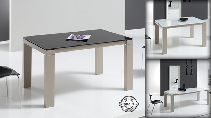 Mesa de comedor extensible harmony kiona salamanca for Muebles de oficina salamanca