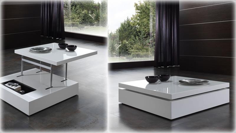 Mesa de centro elevable cuadrada kiona salamanca tienda de decoraci n y muebles - Mesas bajas de centro ...