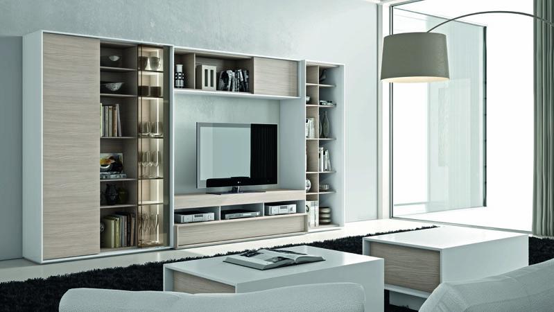 Mueble de sal n modular next 206 kiona salamanca - Mueble salon modular ...