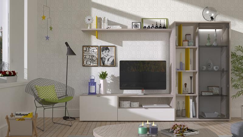 Mueble de salón modular Green Feeling  Kiona Salamanca  Tienda de