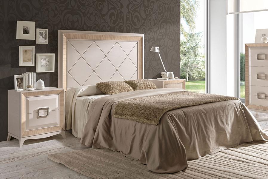 Dormitorio de matrimonio touch con cabecero de 150 for Mesitas habitacion matrimonio