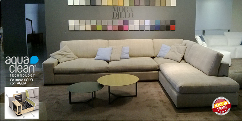 Sofa modular con rinconera JAJA de Moradillo - Kiona Salamanca ...