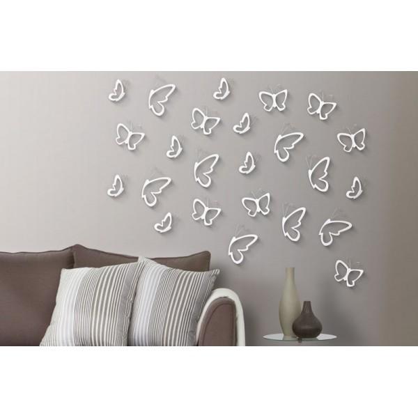 Mariposas 3d para decoraci n de pared kiona salamanca - Mariposas para pared ...